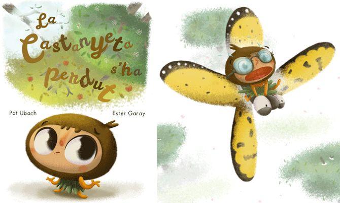 """CHILDREN BOOKS - Ester Garay, ilustradora. """"La castanyeta s'ha perdut"""", escrito por Pat Ubach, para Nice Tales http://www.nicetales.com/ #bastadereglas #basta #reglas #childrenbook #children #book #kids #childrenillustration #ilustración #infantil #ilustracióninfantil #libro #album #ilustrado #ipad #primer #lector #bebe #baby #imaginación #reading #lectura #funny #divertido #niños #adventure #aventura #story #imagination #chestnut #castaña #travel #viaje #autumn #fall #otoño"""