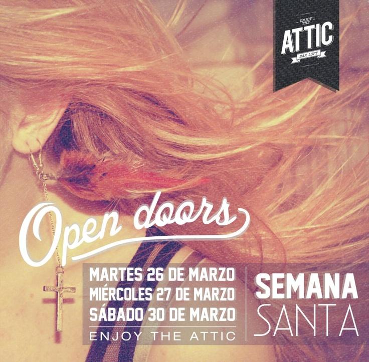 Disfruta de tu descanso en AtticBarLoft que abrirá hoy, mañana y el sábado para que #mirolees! http://www.mirolo.net/Medellin/Attic.aspx