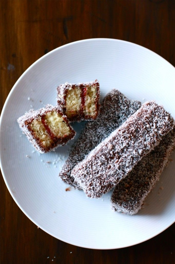 Turkish Mocha Lamington Fingers, spiked with Arabic coffee and spices | Wandering Spice