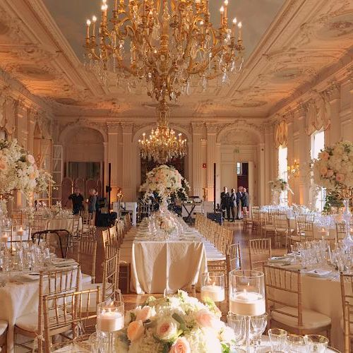 A beautiful summer wedding at Rosecliff Mansion in Newport RI