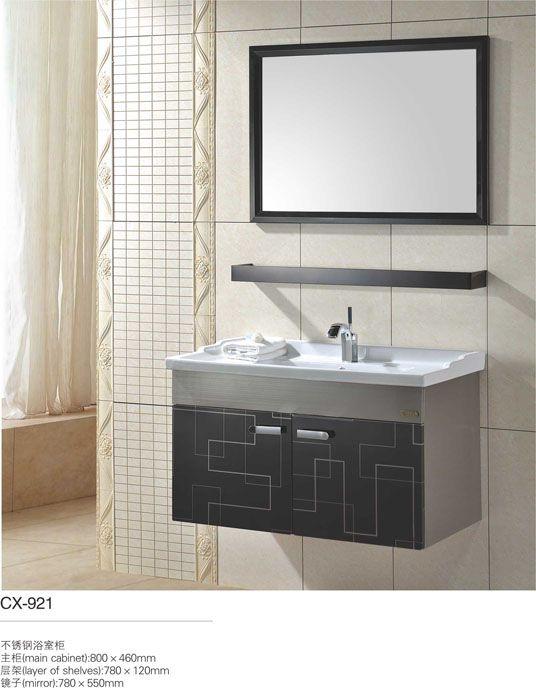 143 best modern stainless steel bathroom cabinet images on - Discounted bathroom vanities sale ...