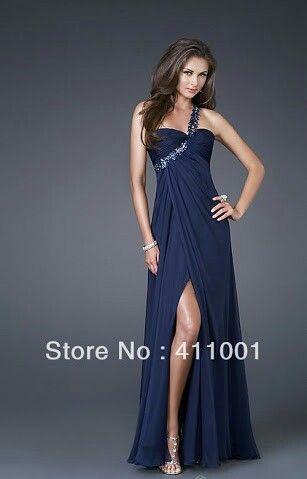 Soraya aida vestido azul
