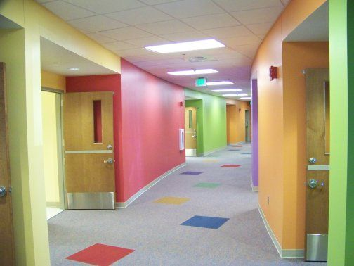 Church Interior Design Ideas church interior design ideas Interior Design Preschool Color Schemes First Baptist Church Education Addition Enterprise Al