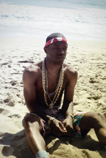 Figures that Mr. Ocean spends free time by the ocean. Vote Frank Ocean for the…