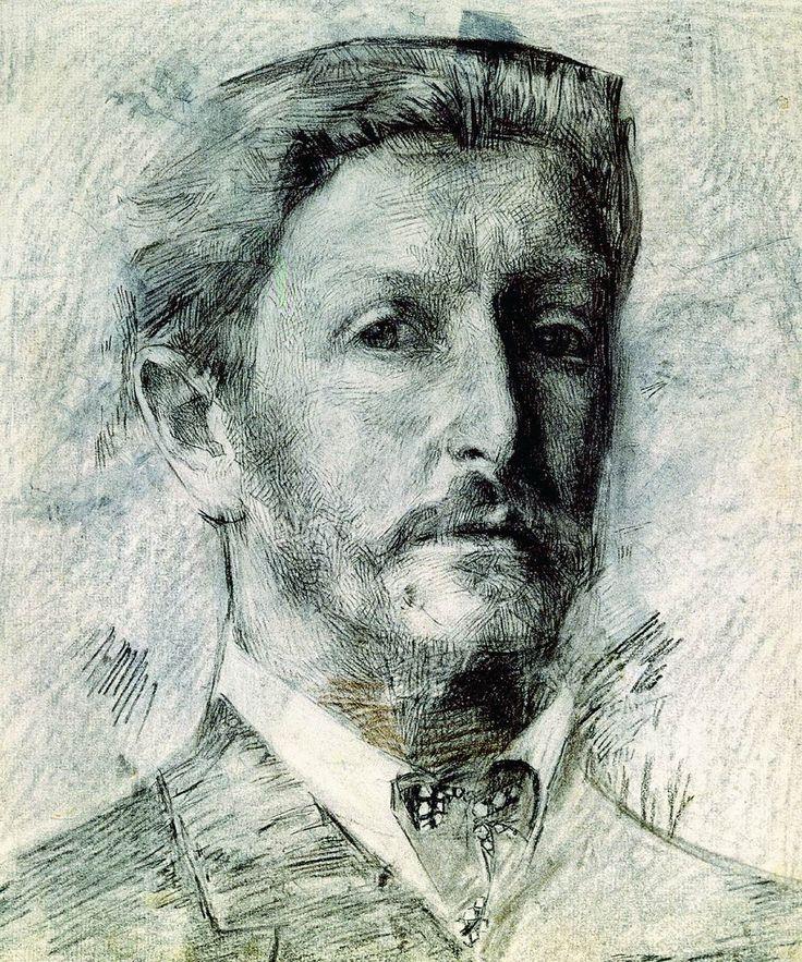 Михаил Александрович Врубель - Автопортрет. 1904-1905