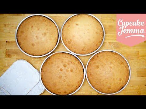 The Best Madeira Cake Recipe | Cupcake Jemma - YouTube