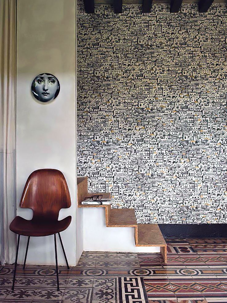 mediterranea wallpaper by fornasetti for cole son wallpaper and pattern pinterest. Black Bedroom Furniture Sets. Home Design Ideas