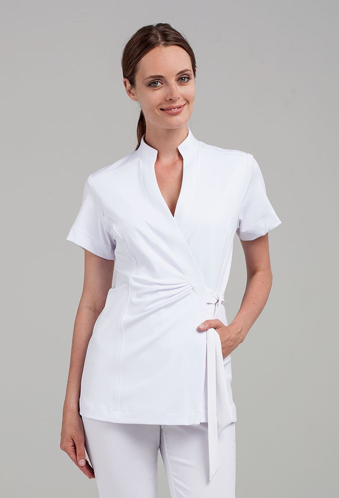 Andiamo wrap tunic tunics wraps and medical uniforms for Spa uniform female