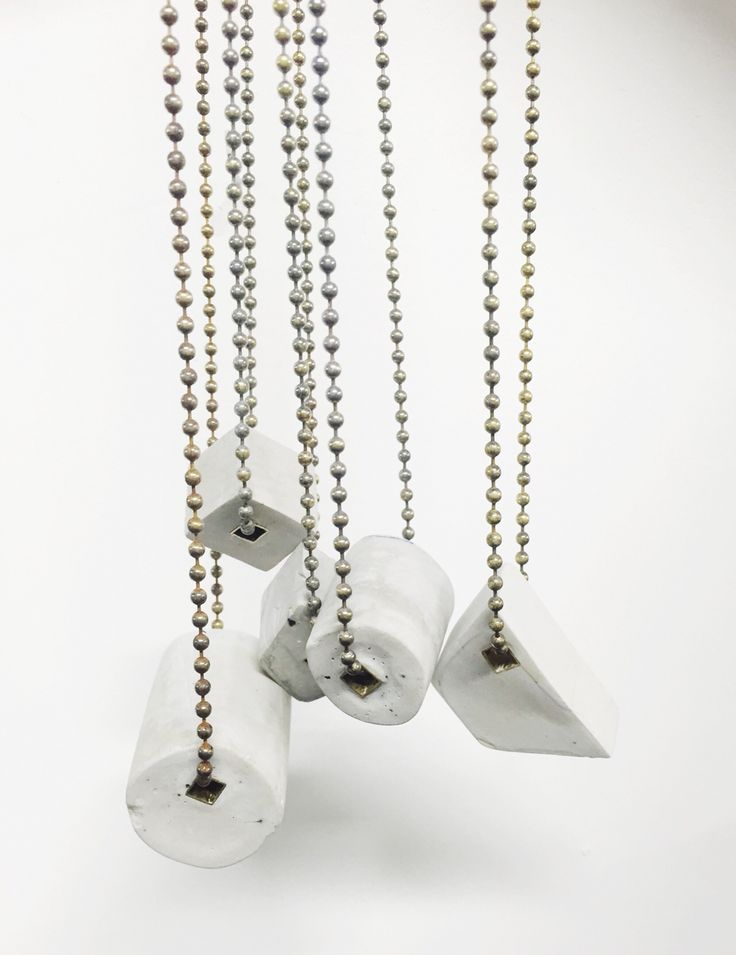 Georgina Trevino - Cement and brass neck-pieces