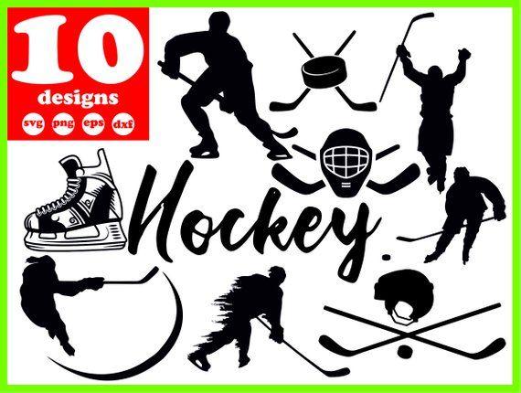 Hockey Svg File Hockey Vector Hockey Digital Hockey Download Etsy Cricut Svg Hockey