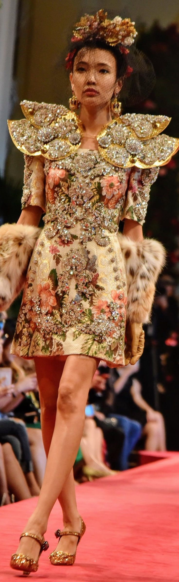 Dolce & Gabbana in Hong Kong Alta Moda Fall 2016