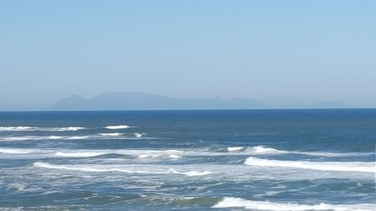 Table Mountain seen from Yzerfontein