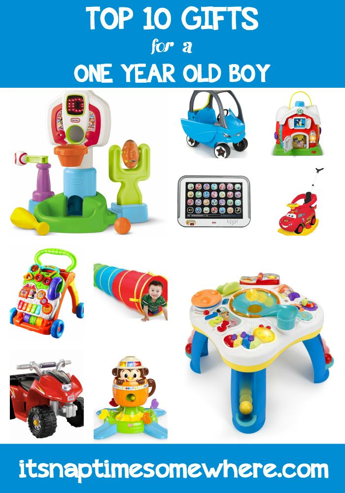 Top 10 Gifts For A One Year Old Boy