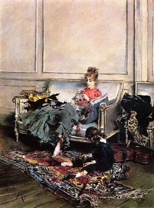 Journée paisible (1875) by Giovanni BOLDINI