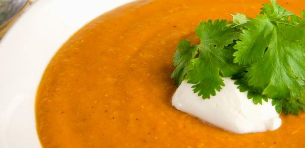 Are you bored with regular tomato soup? Share our Morocan Red Lentil Soup. It's a definite crowd-pleaser! http://www.becel.ca/en/becel/HeartHealthyRecipes/Soups/Moroccan-Red-Lentil-Soup.aspx