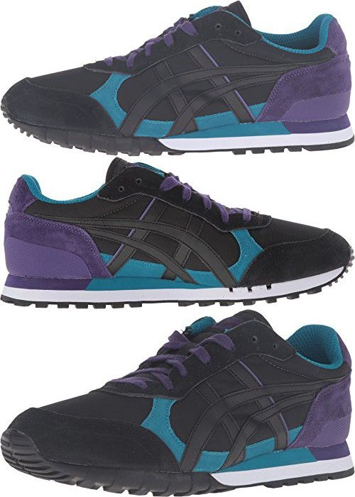 Onitsuka Tiger by Asics Unisex Colorado Eighty-Five? Ocean Depth/Black Sneaker Men's 6, Women's 7.5 Medium