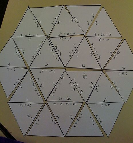 Middle School Math Madness!: Tarsia Puzzle Maker... Want your very own math puzzles? This blog post links to software that allows you to create some!
