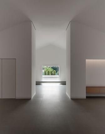 Interior of the Casa delle Bottere, Italy by John Pawson.