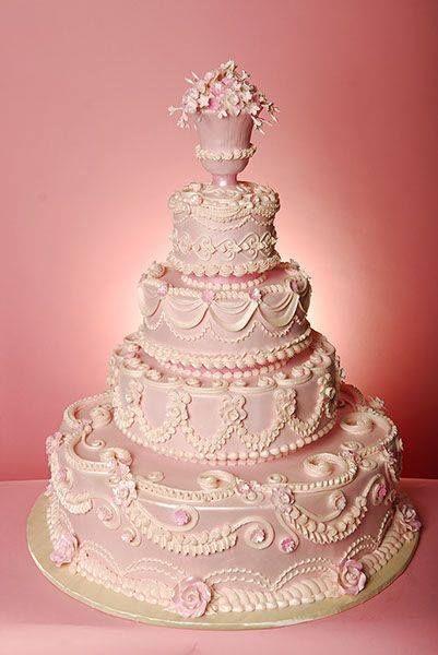 Traditional Tuscan Wedding Cake