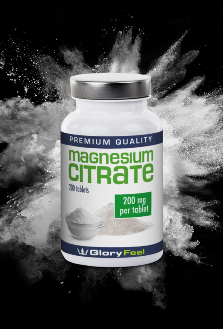 Magnesium Citrate Tablets High Strength