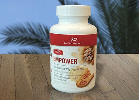 Empower Helps Alleviate Chronic Inflammation Helps Relieve Stiffness in Joints Supports Immune System Efficiency Supports Anti-Aging