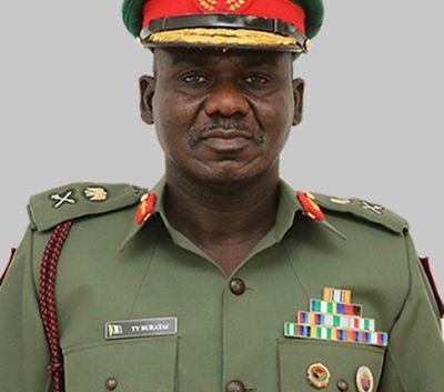 Boko Haram attack and burn down Nigeria's Chief of Army staff  Maj. Gen. Tukur Buratai Home!