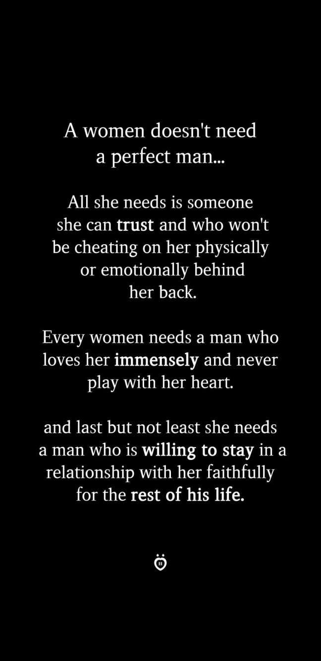 Perfect Woman Quote