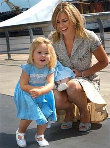 Prinses Maxima en Amalia