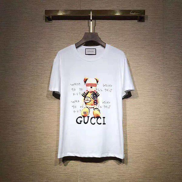 lowest price b56ce 82cf1 グッチTシャツ 熊 ペアルック GUCCI短袖 おしゃれ レディース ...