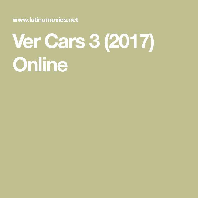 Ver Cars 3 (2017) Online