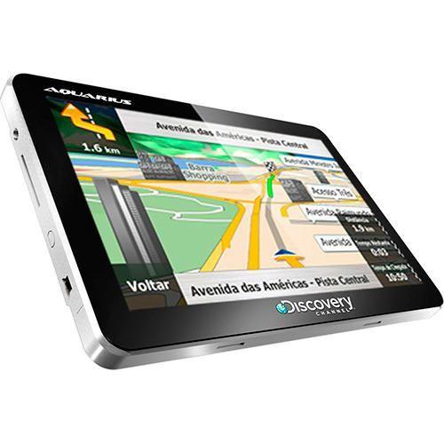 GPS Automotivo Aquarius Discovery Channe... - Shoptime.com
