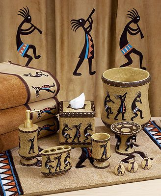 "Avanti ""Kokopelli\"" Bath Accessories"
