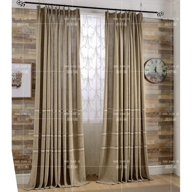 More Great Curtain Options The Wicker House Curtains