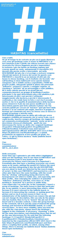 Infografica. Hashtag e link: CLIC sopra per raggiungerli e vederli  #Expo2015 #WonderfulExpo2015 #ExpoMilano2015 #Wonderfooditaly #FrancescoBruno @Francesco Bruno www.blogtematico.it/ frbrun@tiscali.it