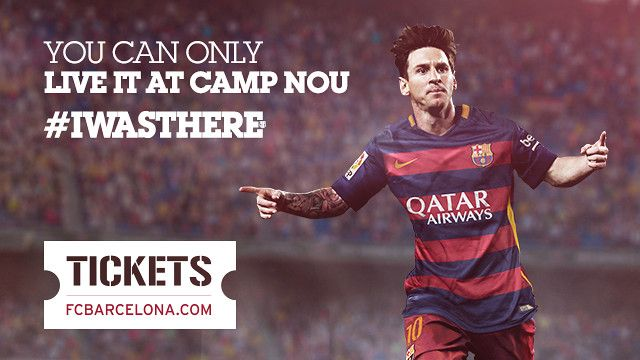 Camp Nou // FC Barcelona Matches TBD: 4.24.16 & 5.8.16