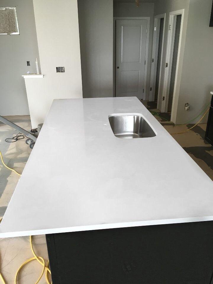 Snow White Msi Quartz How To Install Countertops