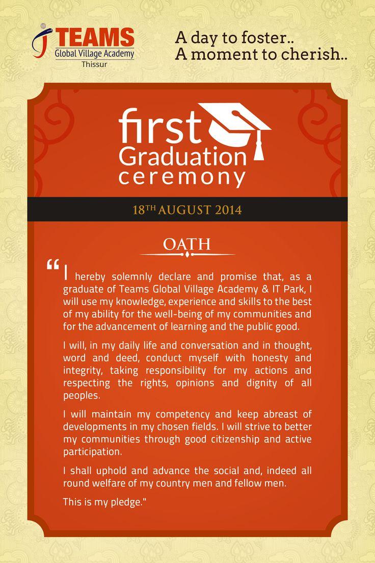 Graduate's Oath