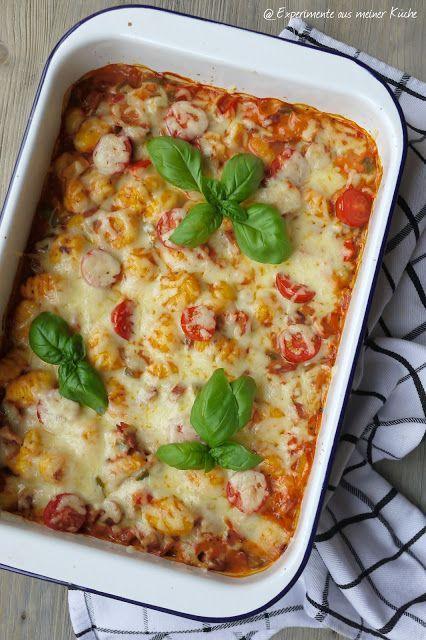 Experimente aus meiner Küche: Gnocchi-Paprika-Auflauf
