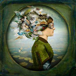 Maggie Taylor, 'The burden of dreams. (woman),' 2013, Weston Gallery
