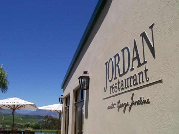 Jordan - Stellenbosch   With chef Jardine for some fine dining