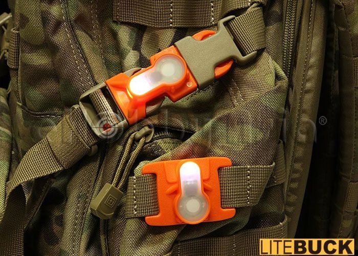 Litebuck MOLLE System Strobe Light ML: It can help us to be saved, or to get food in the night hunting.