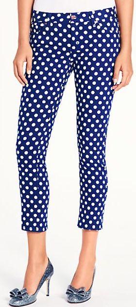 such cute Kate Spade pants http://rstyle.me/n/j7pthr9te