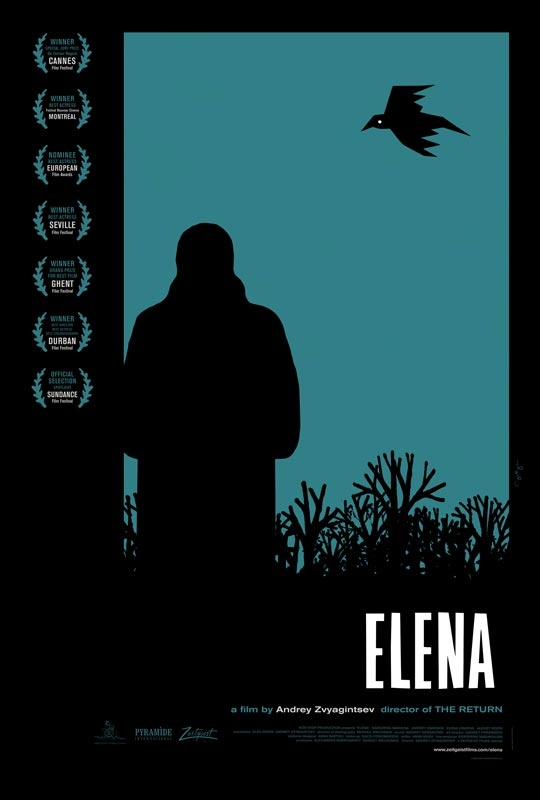 Elena - Movie Trailers - iTunesMovie Posters, Cannes Film Festivals, Picture-Black Posters, Andrey Zvyagintsev, Graphics Design, Graphics Posters, Film Posters, Movie Trailers, Elena 2011