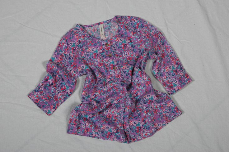 Pink Orchid Flower Woven Tunic by Nevada - $19.99 @ Sears