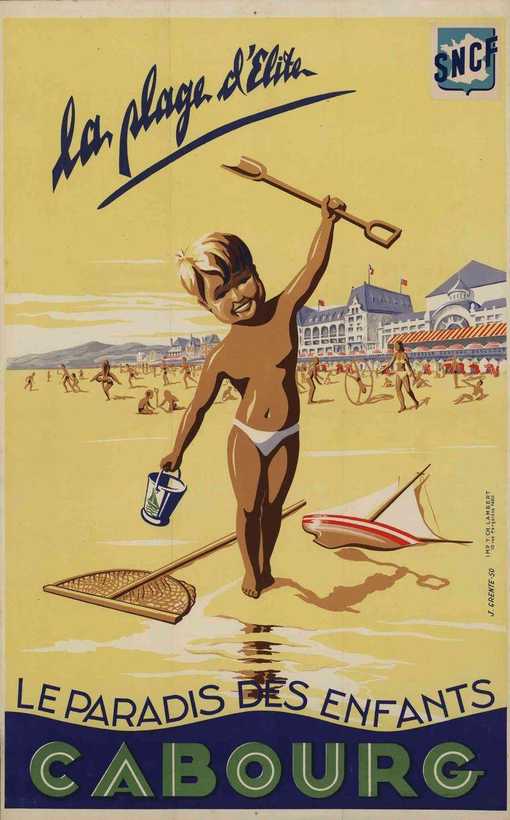Affiches d'affiches de chemin de fer vintage