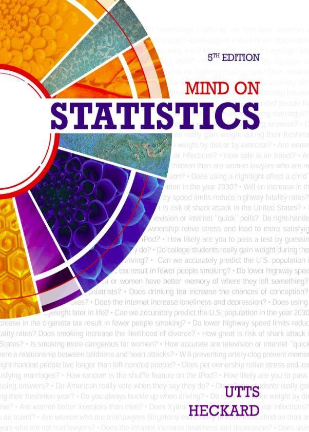 Mind On Statistics 5th Edition Pdf Free Download In 2021 Mindfulness Free Pdf Books Statistics