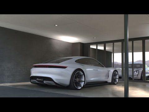 Porsche: Concept Study: Mission E – Performance concept.