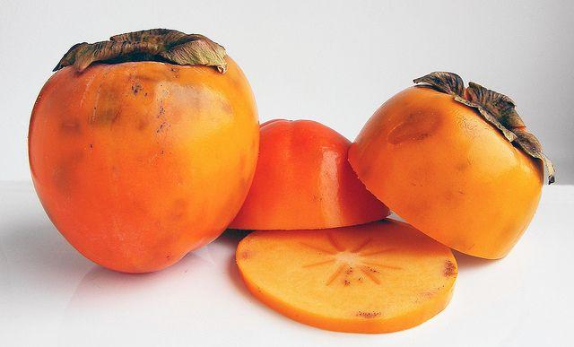 Kaki (of sharon fruit) recept: Kaki Chutney
