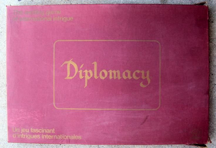 Vintage Diplomacy Board Game (1971) - Vintage Board Game