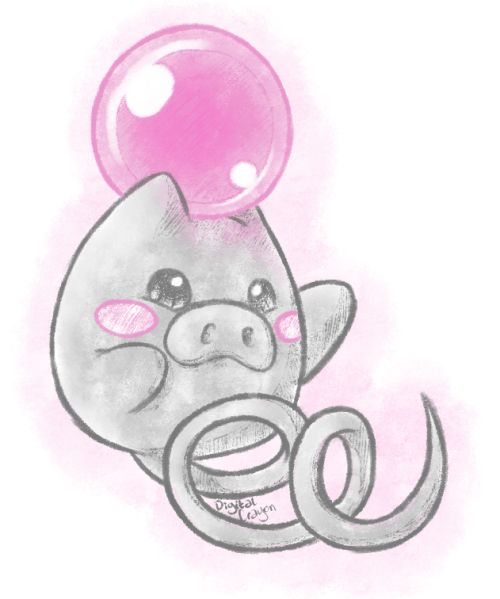 Doodling Pokemon Tonight 325 Spoink Pocket Monsters Pinterest Pok 233 Mon Doodles And Anime